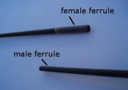 fishing rod ferrules