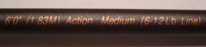 fishing rod specifications