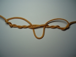 dropper knot step 2